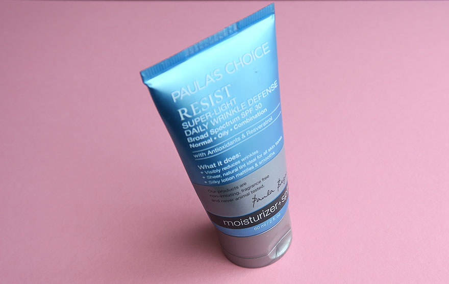 [Review] Paula's Choice Resist Super-Light Daily Wrinkle Defense SPF30